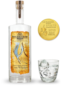 Award-winning PB Corn Whiskey