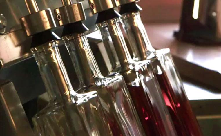 whiskey bottling
