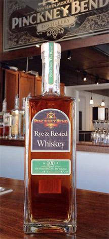 Rye & Rested Whiskey