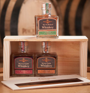 Cask-finished whiskeys boxed set