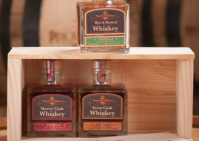 Cask-finished whiskeys boxed set