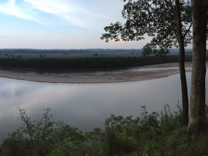 The Real Pinckney Bend on the Missouri River