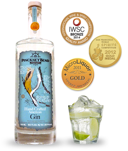 Our award-winning gin