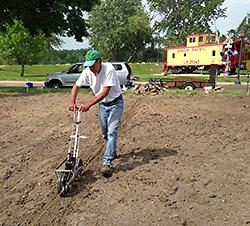 Planting Hickory Cane
