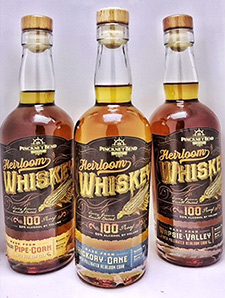 Heirloom Whiskey bottles