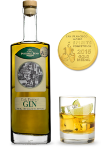 Cask gin and award