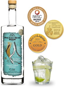 Pinckney Bend American Gin and awards