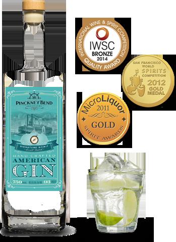 Our award-winning gin